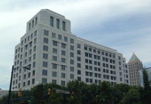 ústředí jedné z rezervních bank FEDu v Atlantě
