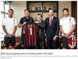 GKFX AC Milan sponzor