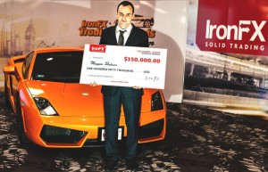 IronFX a Lamborghini