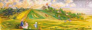 Zatím nejcennějším dílem letošního roku je obraz Josefa Čapka V červnu.