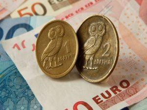 euro a drachna