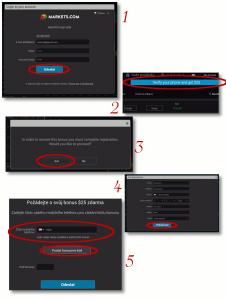 Jednoduchý 5 krokový návod pro získání bonusu 25 USD v markets.com bez nutnosti vkladu