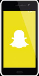 Aplikace Snapchat umožňuje přijímat a odesílat fotografie, které za krátkou dobu zase zmizí.